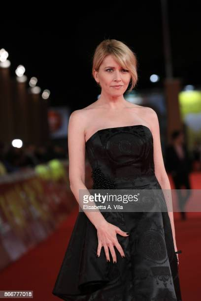 Loredana Cannata walks a red carpet for Hostiles during the 12th Rome Film Fest at Auditorium Parco Della Musica on October 26 2017 in Rome Italy
