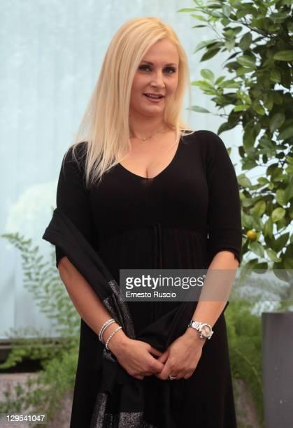 "Loredana De Nardis attends the ""Matrimonio A Parigi"" photocall at Hotel Visconti on October 18, 2011 in Rome, Italy."