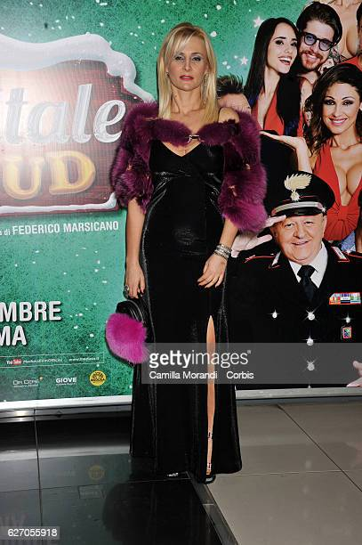 Loredana De Nardis attends 'Un Natale Al Sud' Red Carpet In Rome on December 1, 2016 in Rome, Italy.