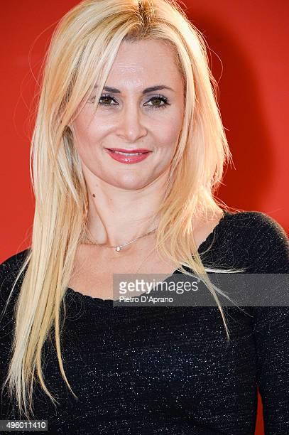 Loredana De Nardis poses during the 'Matrimonio Al Sud' Photocall on November 6, 2015 in Milan, Italy.