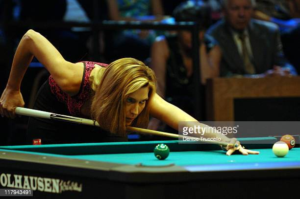 Loree Jon Jones during International Pool Tour World 8Ball Championship August 20 2005 at Mandalay Bay in Las Vegas Nevada United States
