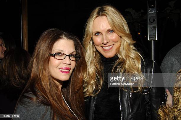 Loree Rodkin and ? attend ETRO and Perrier Jouet Celebrate The Launch of Patrick McMullan's Book KISS KISS at Chateau Marmont on February 28, 2006 in...