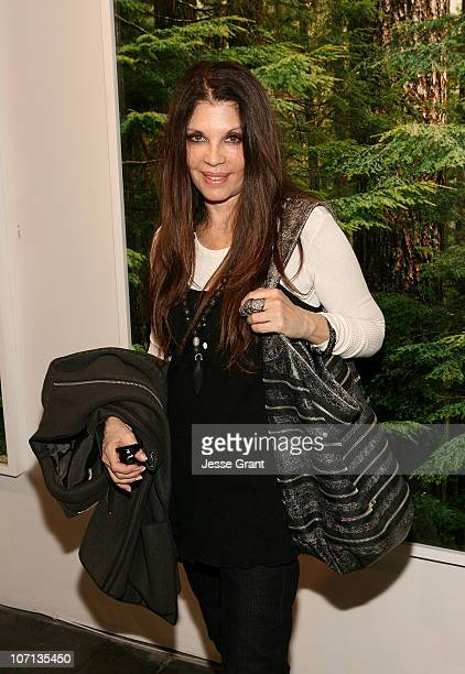 Loree Rodkin attends Alexandra Hedison's ITHAKA opening at Month Of Photography LA at Frank Pictures Gallery on April 4 2009 in Santa Monica...