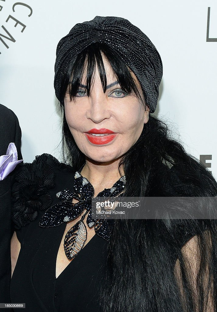 Loreen Arbus arrives at The Paley Center for Media's 2013 benefit gala honoring FX Networks with the Paley Prize for Innovation & Excellence at Fox Studio Lot on October 16, 2013 in Los Angeles, California.