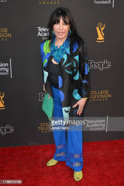 Loreen Arbus attends The Television Academy Foundation's 39th College Television Awards at Wolf Theatre on March 16 2019 in North Hollywood California