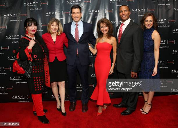 Loreen Arbus Donna Hanover Steve Lacy Susan Lucci Mike Woods and Teresa Priolo attend the UCP of NYC 70th Anniversary Celebration Gala at New York...