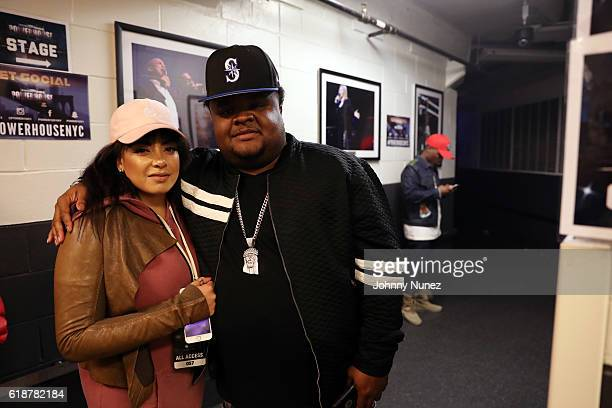 Lore'l and Fred The Godson attend Power 105.1's Powerhouse 2016 at Barclays Center of Brooklyn on October 27, 2016 in New York City.