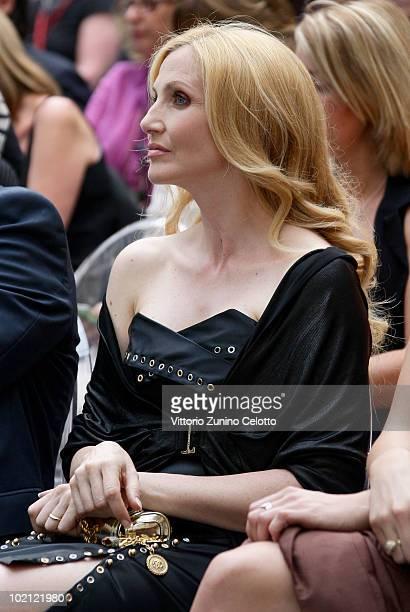 Lorella Cuccarini attends the RAI Autumn / Winter 2010 TV Schedule held at Castello Sforzesco on June 15 2010 in Milan Italy
