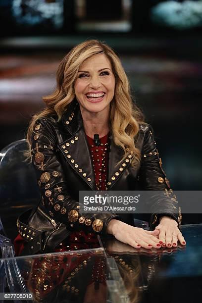 Lorella Cuccarinii attends 'Che Tempo Che Fa' Tv Show on December 4 2016 in Milan Italy