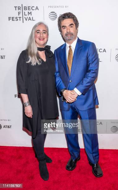 Loren Eiferman and Joe Berlinger attend Extremely Wicked Shockingly Evil And Vile during 2019 Tribeca Film Festival at The Stella Artois Theatre...