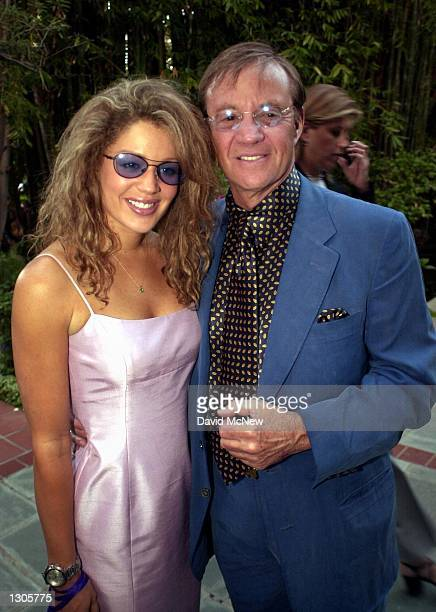Loren Fossie and Jay Bernstein attend the Jubilation 2000 Concert June 1 2000 at the home of producer Alan Ladd Jr in Beverly Hills CA The concert...