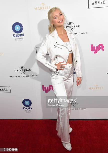 Loren Gray attends Capitol Music Group's 5th annual Capitol Congress Premieres new music and projects for industry and media at Arclight Cinemas...