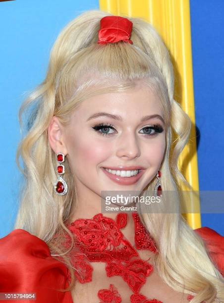 Loren Gray attends FOX's Teen Choice Awards at The Forum on August 12 2018 in Inglewood California