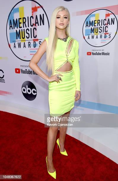 Loren Gray attends the 2018 American Music Awards at Microsoft Theater on October 9 2018 in Los Angeles California