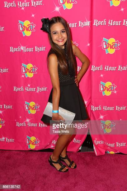 Loren Puchalski at Rock Your Hair Presents Rock Back to School Concert Party on September 30 2017 in Los Angeles California