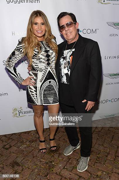 Loren Ridinger and JR Ridinger attend SHOPcom celebration of art with Phillipe HoerleGuggenheim presenting RETNA hosted by JR Loren Ridinger Aston...