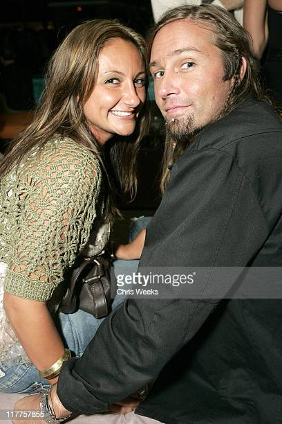 Lorena Bendinskas and David Ogden during 2005 Stuff Style Awards Inside at Hollywood Roosevelt Hotel in Los Angeles California United States