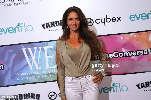 Lorena Bernal attends the Global Gift Foundation USA Women's Empowerment luncheon and speaker panel in support of the Eva Longoria Foundation at...