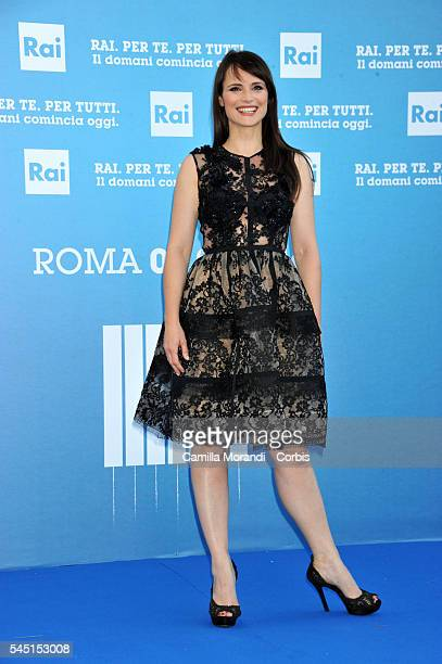 Lorena Bianchetti at the Rai Show Schedule on July 5 2016 in Rome Italy