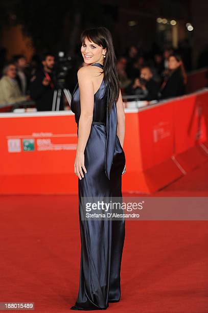 Lorena Bianchetti attends 'Parce Que J'etais Peintre' Premiere during The 8th Rome Film Festival on November 14, 2013 in Rome, Italy.
