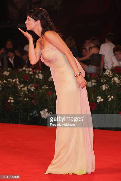 Lorena Bianchetti attends the Faust premiere during the 68th Venice Film Festival at Palazzo del Cinema on September 8 2011 in Venice Italy