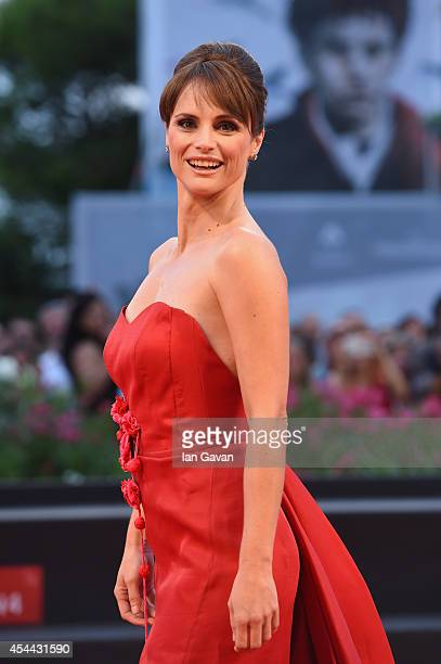 Lorena Bianchetti attends the 'Hungry Hearts' premiere during the 71st Venice Film Festival on August 31, 2014 in Venice, Italy.