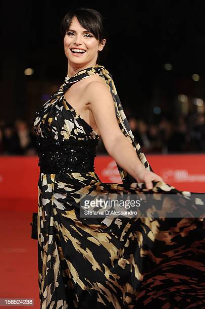 Lorena Bianchetti attends 'The Moral Life' Premiere during The 7th Rome Film Festival on November 16 2012 in Rome Italy