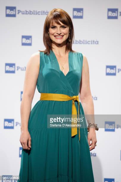 Lorena Bianchetti attends the Rai Show Schedule presentation on June 27 2018 in Milan Italy