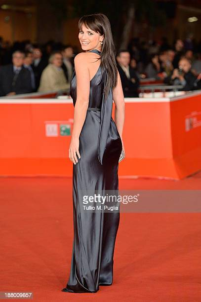 Lorena Bianchetti attends the 'Take Five' Premiere during The 8th Rome Film Festival at Auditorium Parco Della Musica on November 14 2013 in Rome...