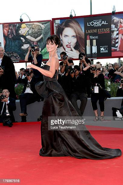 "Lorena Bianchetti attends the ""The Zero Theorem"" Premiere during the 70th Venice International Film Festival at Sala Grande on September 2, 2013 in..."