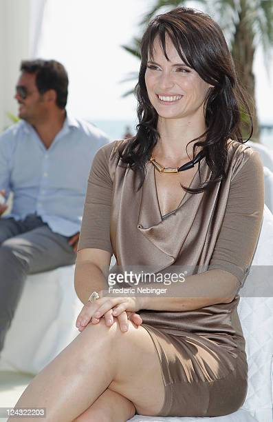 Lorena Bianchetti poses at the A Simple Life awards during the 68th Venice Film Festival at Palazzo del Cinema on September 9 2011 in Venice Italy