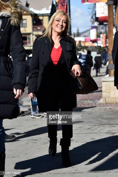 Lorena Bobbitt attends the 2019 Sundance Film Festival on January 28 2019 in Park City Utah