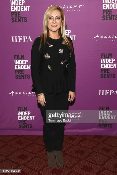 Lorena Bobbitt attends the Film Independent Presents Lorena at ArcLight Hollywood on February 06 2019 in Hollywood California