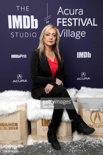 Lorena Bobbitt of 'Lorena' attends The IMDb Studio at Acura Festival Village on location at The 2019 Sundance Film Festival Day 4 on January 28 2019...