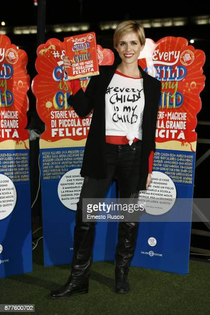 Lorena Cacciatore attends #EVERYCHILDISMYCHILD book presentation on November 22 2017 in Rome Italy