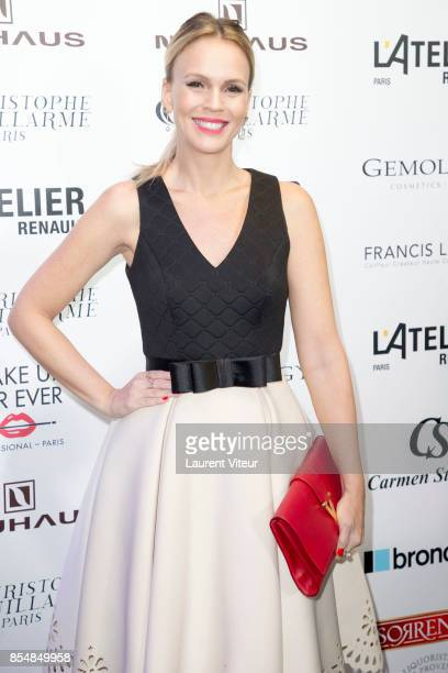 Lorena Campello attends the Christophe Guillarme show as part of the Paris Fashion Week Womenswear Spring/Summer 2018 on September 27 2017 in Paris...