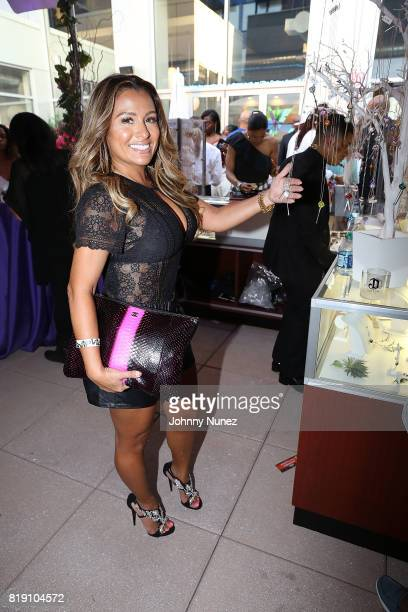 Lorena Cartagena attends A Toast To Summer Hosted By Simone I Smith at Aloft LICNY Hotel on July 19 2017 in New York City