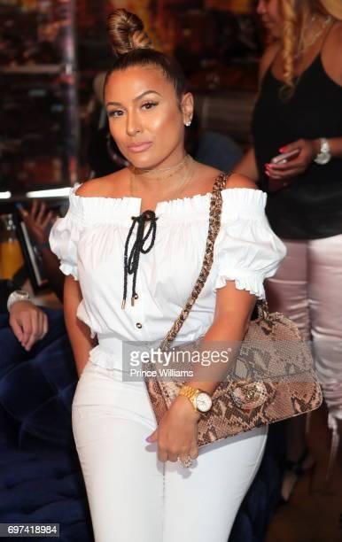 Lorena Cartagena attends Brunch With a Baller at Escobar Restaurant and Tapas on June 18 2017 in Atlanta Georgia