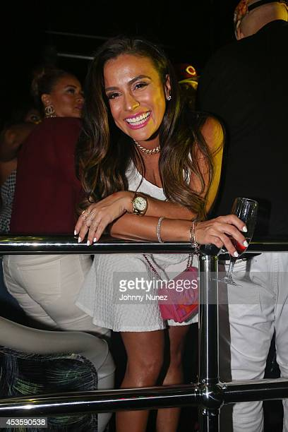 Lorena Cartagena attends Pistol Pete's Birthday Celebration at Litt on August 13 2014 in the Queens borough of New York City