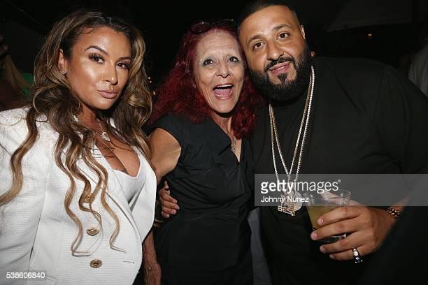 Lorena Cartagena Patricia Fields and DJ Khaled attend Haute Living Celebrates DJ Khaled And Nicole Khaled Presented By JetSmarter on June 6 2016 in...