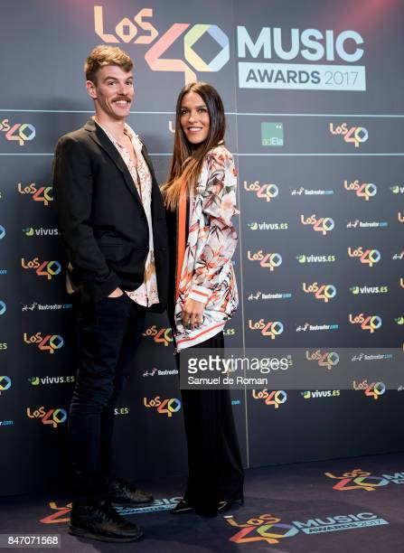 Lorena Castell attends 40 Principales Awards candidates dinner 2017 on September 14 2017 in Madrid Spain