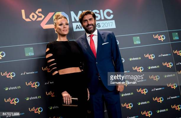Lorena Gomez attends 40 Principales Awards candidates dinner 2017 on September 14 2017 in Madrid Spain
