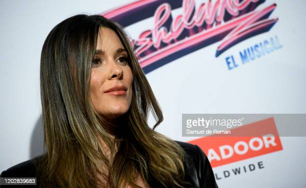 Lorena Gomez attends 'Flashdance The Musical' Premiere on January 29 2020 in Madrid Spain