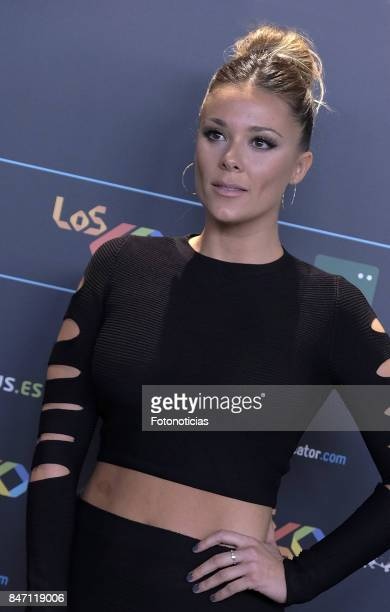 Lorena Gomez attends the 40 Principales Awards Nominated Dinner at the Florida Retiro on September 14 2017 in Madrid Spain