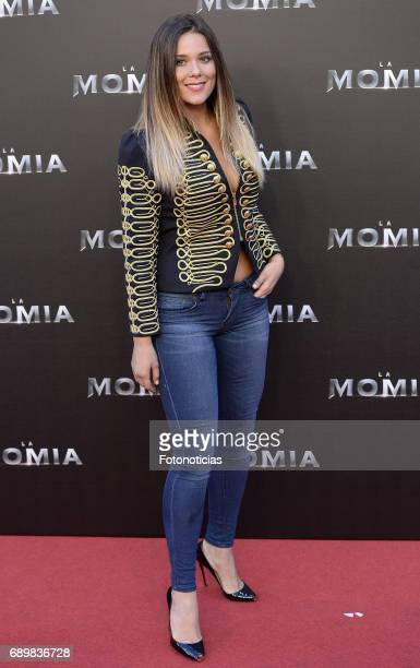 Lorena Gomez attends 'The Mummy' premiere at Callao cinema on May 29 2017 in Madrid Spain