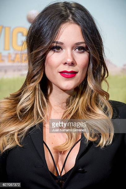 Lorena Gomez attends 'Villaviciosa De Al Lado' premiere at Capitol Cinema on December 1 2016 in Madrid Spain