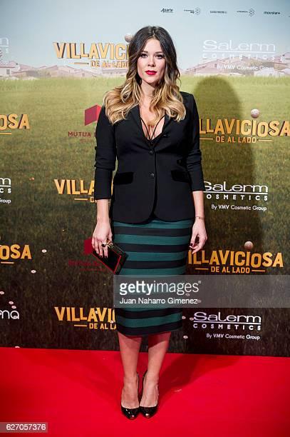 Lorena Gomez attends 'Villaviciosa De Al Lado' premiere at Capitol Cinema on December 1 2016 in Madrid Spain