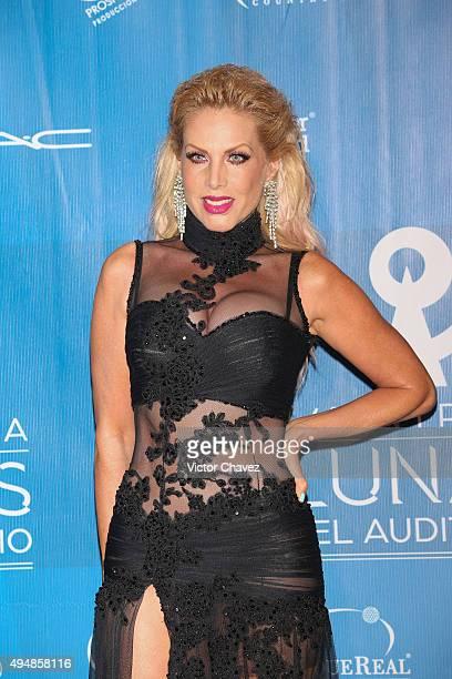 Lorena Herrera attends Lunas Del Auditorio Nacional 2015 at Auditorio Nacional on October 28 2015 in Mexico City Mexico