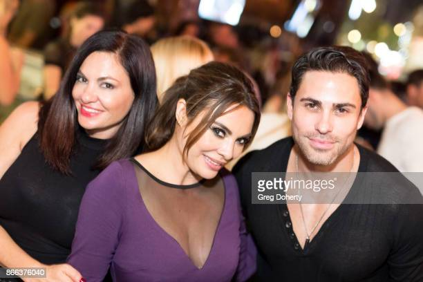 Lorena Linares'n and Actors Lilly Melgar and Carlo Mendez attend the Cast Premiere Screening Of Lany Entertainment's 'The Bay' Season 3 After Party...