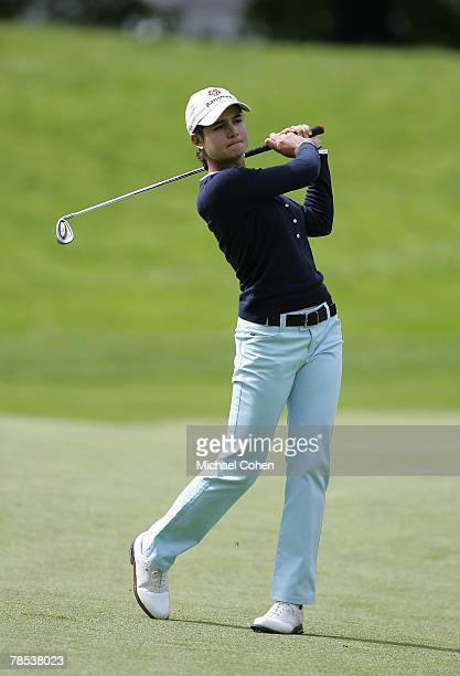 Lorena Ochoa during the final round of the 2006 Sybase Classic at Wygakyl Country Club in New Rochelle New York on May 21 2006